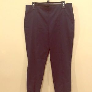 Brand new blue ankle pants